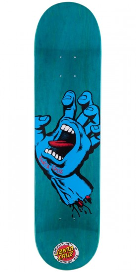 Santa Cruz Screaming Hand Skateboard Deck - 7.60""