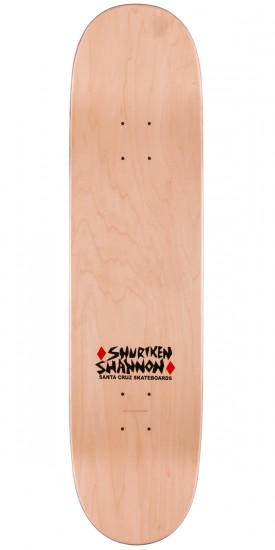 Santa Cruz Shannon Poker Dog Skateboard Complete - 8.0""
