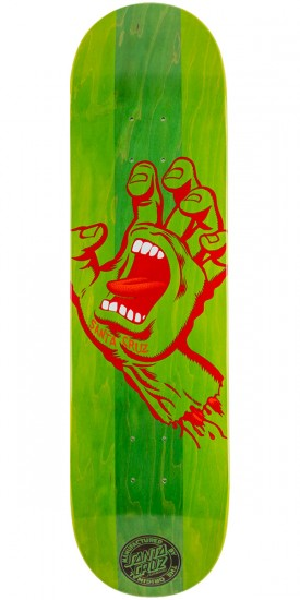 Santa Cruz Stained Hand Skateboard Deck - 8.25""