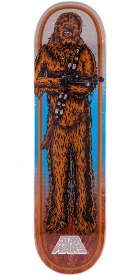 Star Wars Chewbacca Skateboard Deck - 8.26""
