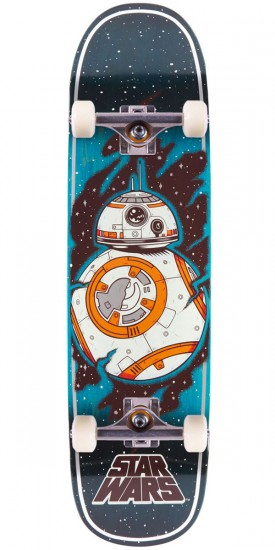 Santa Cruz Star Wars Episode VII BB8 Skateboard Complete - 8.50""
