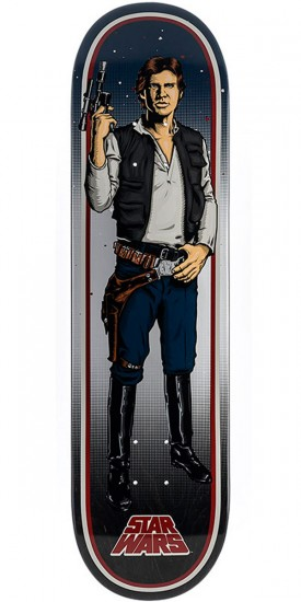 Star Wars Han Solo Skateboard Deck - 8.26""