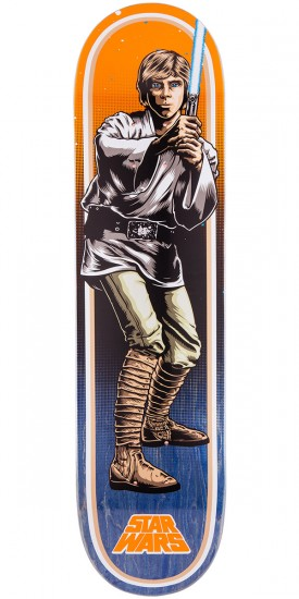 Star Wars Luke Skywalker Skateboard Deck - 7.80""