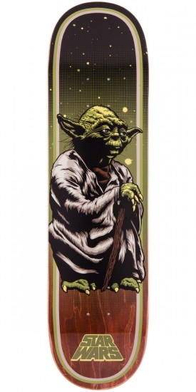 Star Wars Yoda Skateboard Deck - 8.00""