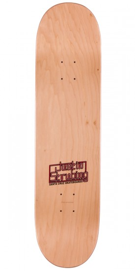 Santa Cruz Strubing Poker Dog Skateboard Deck - 8.3""