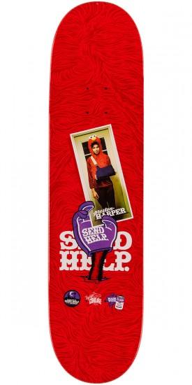 Send Help Preston Harper Elmo Pad Skateboard Deck - 8.00""