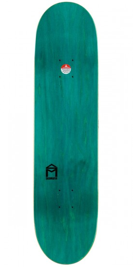 Sk8Mafia Brown Hall Of Fame Skateboard Deck - 8.25""