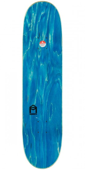 "Welcome Wildest Dreams on Moontrimmer 2.0 Skateboard Complete - 8.5"" - Blue Stain"