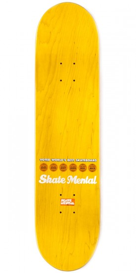 Skate Mental Colden All Pink Everything Skateboard Deck - 8.00""