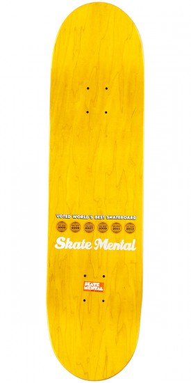 """Skate Mental Curtain Matches Skateboard Complete - 8.375"""""""