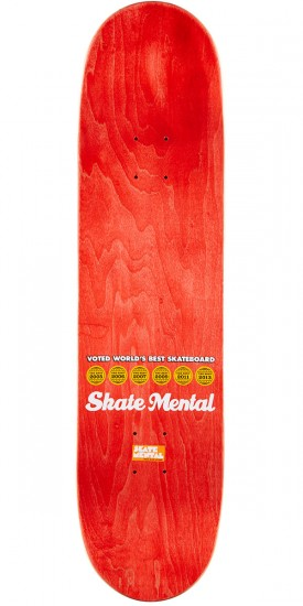 Skate Mental Curtin Jack Skateboard Deck - 8.125""