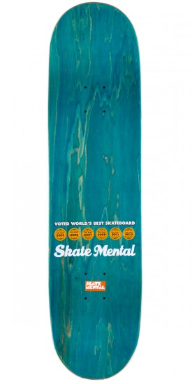 Skate Mental Dan Plunkett Lovely Day Skateboard Complete - 8.0""