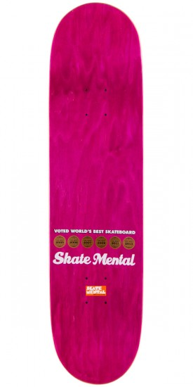 Skate Mental Earthquake Survival Skateboard Deck - 8.125""