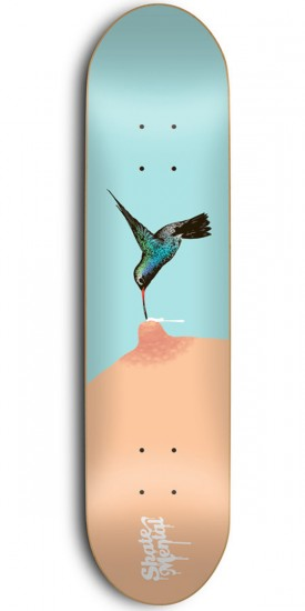 Skate Mental Hummingbird Skateboard Deck - 8.375""