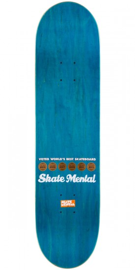 Skate Mental Not So Fun Box Skateboard Complete - 8.00""