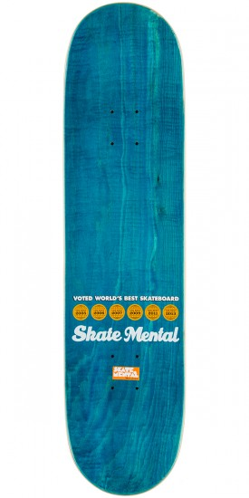 Skate Mental One-Off Dead Skateboard Complete - 8.0""
