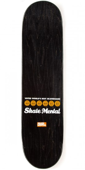 Skate Mental Plunket Deep Space Toke Skateboard Deck - 8.25""