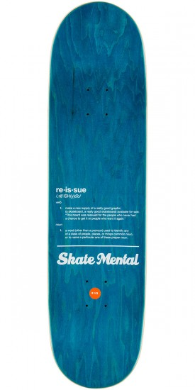 Skate Mental Plunkett Blackout Skateboard Deck - 8.5""