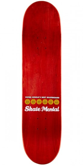 Skate Mental Plunkett Tour From Hell Skateboard Deck - 8.06""