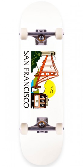 Skate Mental San Francisco Tourist Skateboard Complete - 8.125""