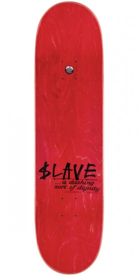 Slave All Together Skateboard Deck - Orange/White - 8.375""