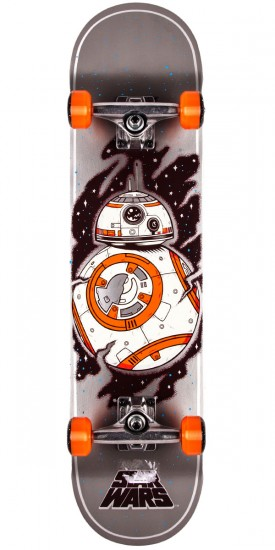 Star Wars Episode VII BB8 Regular Skateboard Complete - 7.8""