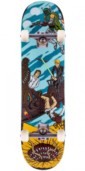 Star Wars Sarlacc Pit Skateboard Complete - 8.0""