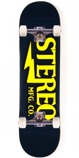 "Stereo Amplified Skateboard Complete - 8.25"" - Blue"