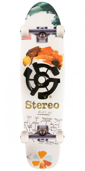 Stereo Blues101 45 Cruiser Skateboard Complete - 8.0""