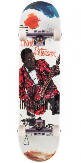 Stereo Clint Peterson Blues Skateboard Complete - 8.1""