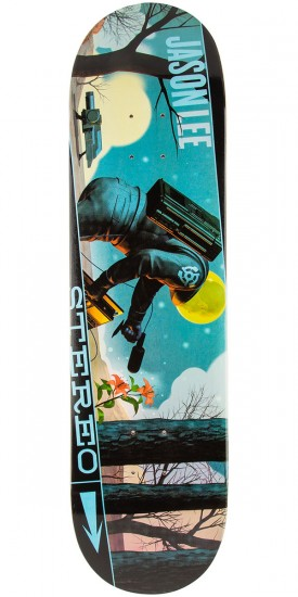 Stereo Sound Space Lee Skateboard Deck - 8.375""