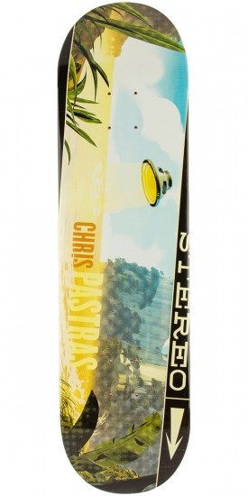 Stereo Sound Space Pastras Skateboard Deck - 8.25""