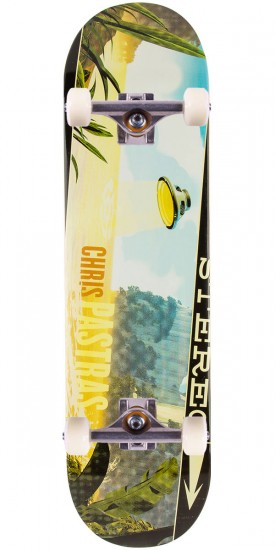 """Stereo Sound Space Pastras Skateboard Complete - 8.25"""""""