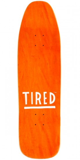 Tired Ashamed and Tired on Stumpnose Skateboard Deck - 9.00""