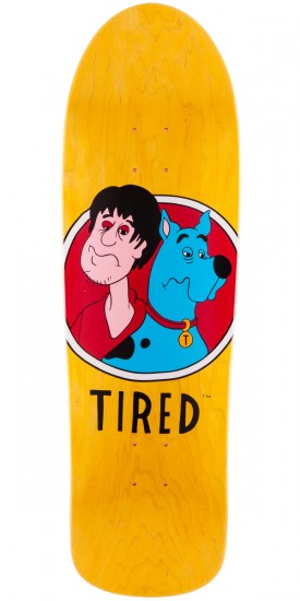 Tired Scrooby Skateboard Deck - 9.50""