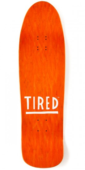 Tired Sitting on Faces on Big Skateboard Deck - 9.5""