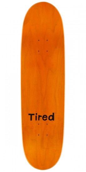 Tired Elbow Pad Skateboard Complete - 8.6""