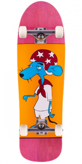Tired Slow Poke Skateboard Complete - 9.5""