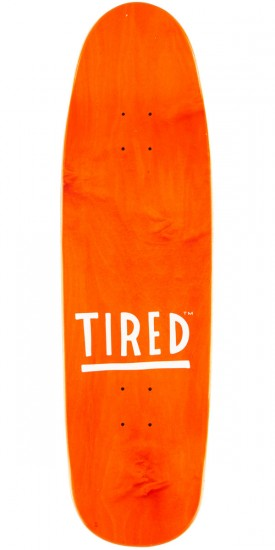 """Tired Thumbs Down on Sigar Skateboard Complete - 9.25"""""""