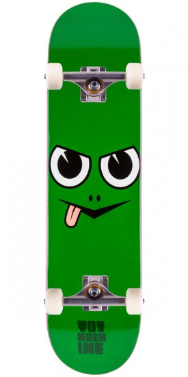 Toy Machine Angry Turtle Face Skateboard Complete - 8.0""