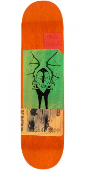 Toy Machine Bennett Scraps Skateboard Deck - 8.0""