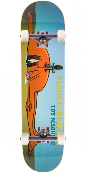 Toy Machine Blake Back Stab Skateboard Complete - 8.125""
