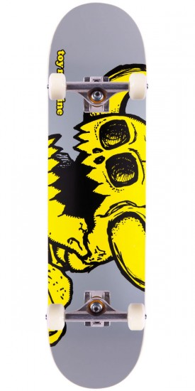 Toy Machine Vice Dead Monster Skateboard Complete - Grey - 7.875""
