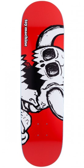 Toy Machine Vice Dead Monster Skateboard Deck - Red Stain