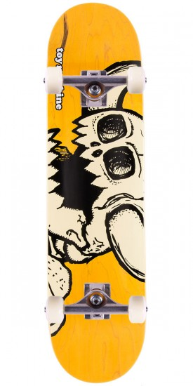 Toy Machine Dead Vice Monster Skateboard Complete - Yellow - 8.00""