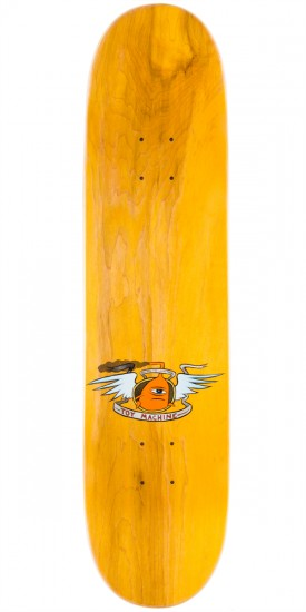 """Toy Machine Dead Vice Monster Skateboard Deck - Yellow - 8.00"""""""