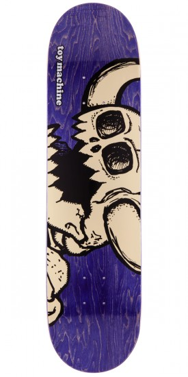 Toy Machine Dead Vice Monster Skateboard Deck - Purple Stain - 8.0""