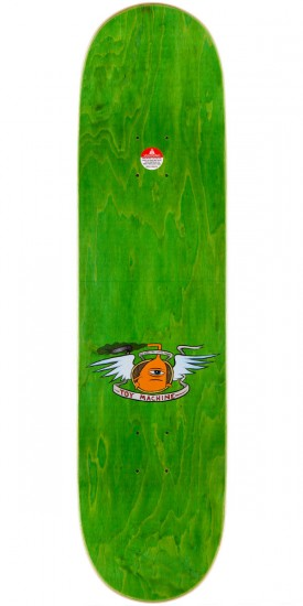 Toy Machine Ed Templeton Sect Girl Skateboard Deck - 8.375""