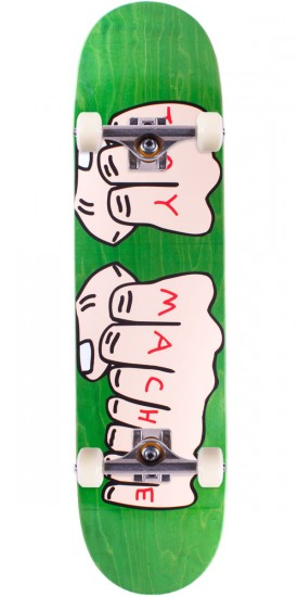 Toy Machine Fists Skateboard Complete - Green - 7.75""