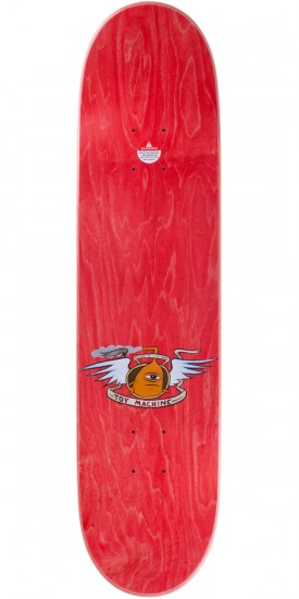 """Toy Machine Fists Skateboard Complete - Red Stain - 7.75"""""""
